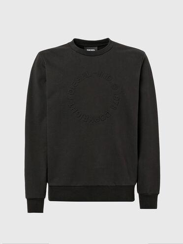 Sweatshirt mit geprägtem Copyright-Logo