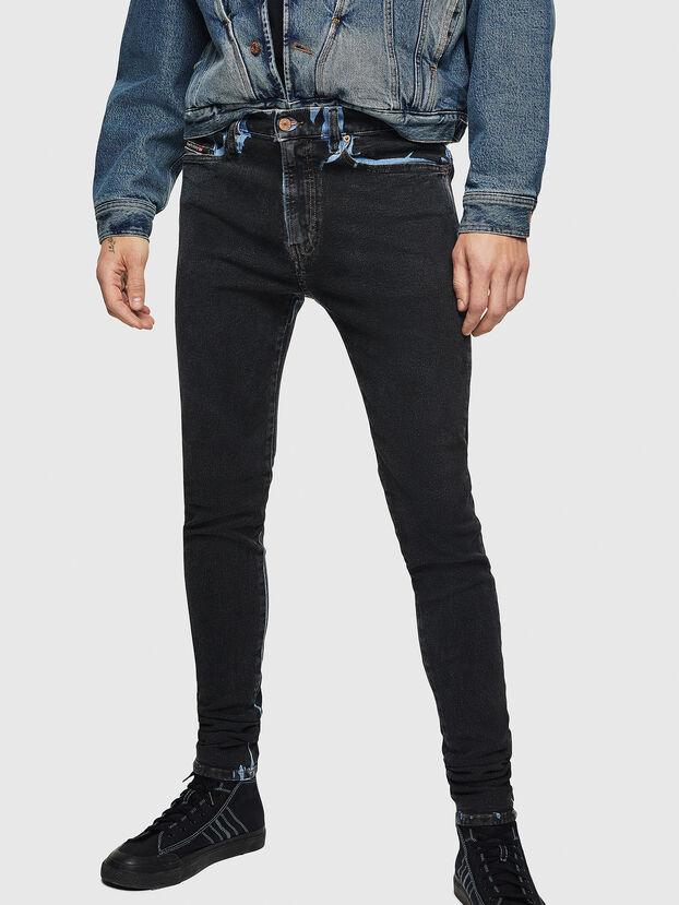 D-Istort 0094B, Dunkelblau - Jeans