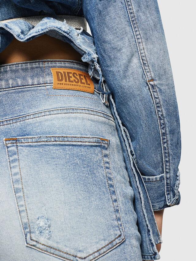 Diesel - D-Eiselle 084AA, Hellblau - Jeans - Image 5