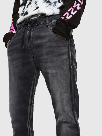 Diesel - Krooley JoggJeans 0094Q, Schwarz/Dunkelgrau - Jeans - Image 3