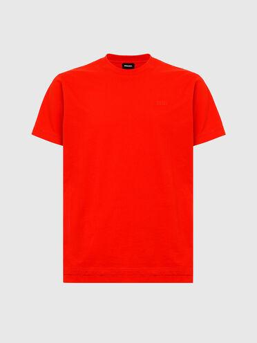 T-Shirt mit doppeltem Saum
