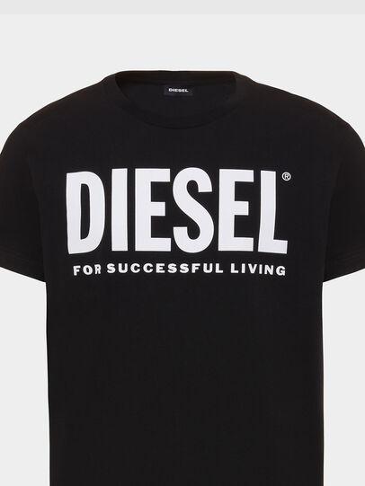 Diesel - T-DIEGO-LOGO, Schwarz - T-Shirts - Image 3