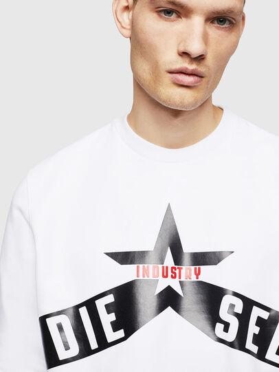 Diesel - S-GIR-A2, Weiß - Sweatshirts - Image 3