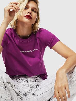 T-SILY-COPY, Violett - T-Shirts
