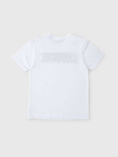 Diesel - TJUSTDIVISION, Weiß - T-Shirts und Tops - Image 2