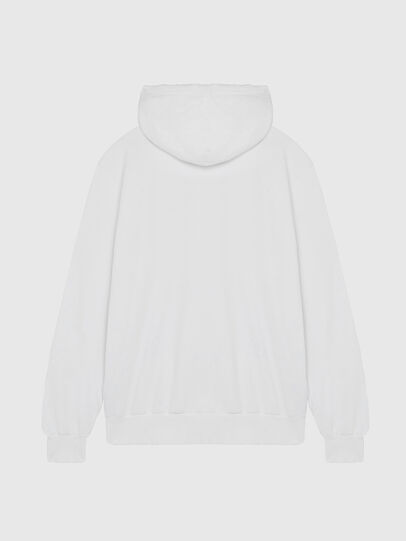 Diesel - S-GIR-HOOD-DIVISION-, Weiß - Sweatshirts - Image 2