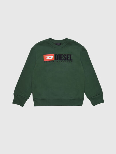 Diesel - SCREWDIVISION OVER, Flaschengrün - Sweatshirts - Image 1