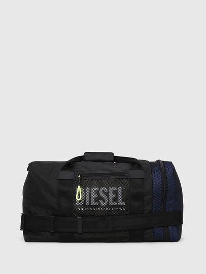 Diesel - M-CAGE DUFFLE M, Schwarz - Reisetaschen - Image 1