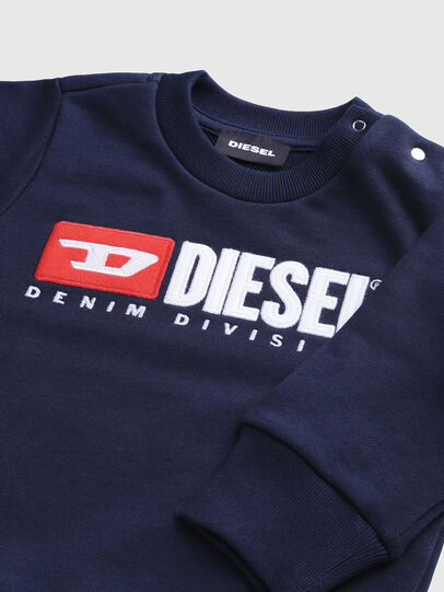 Diesel - SCREWDIVISIONB, Marineblau - Sweatshirts - Image 3