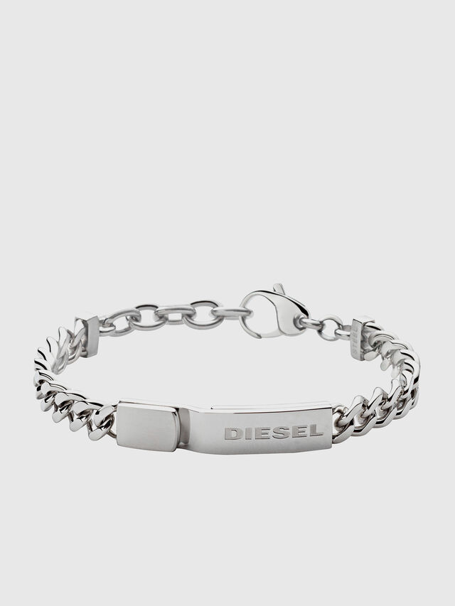 Diesel - DX0966, Silber - Armbänder - Image 1