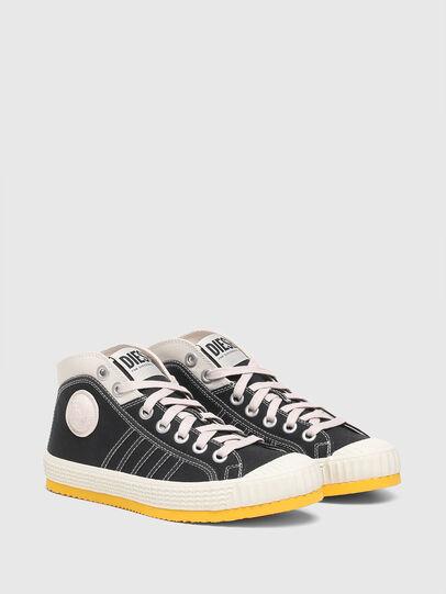 Diesel - S-YUK MC W, Schwarz/Gelb - Sneakers - Image 2