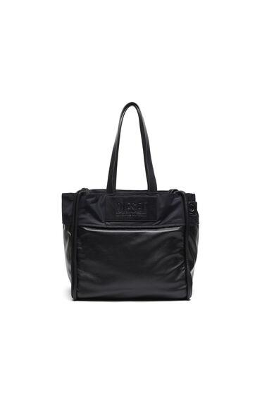 Shopping-Tasche aus wattiertem Leder