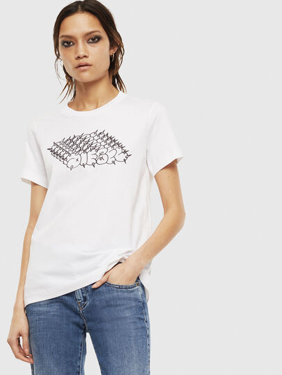 Diesel - T-SILY-S6, Weiß - T-Shirts - Image 1