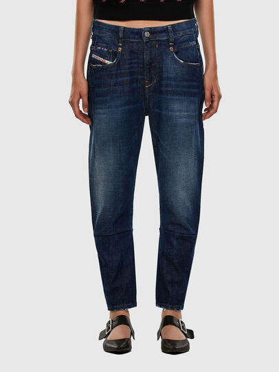 Diesel - Fayza 0F9ET, Dunkelblau - Jeans - Image 1