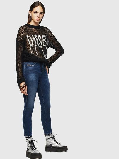 Diesel - Babhila 083AE, Dunkelblau - Jeans - Image 5