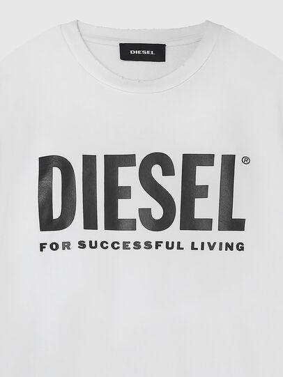 Diesel - S-GIR-DIVISION-LOGO, Weiß - Sweatshirts - Image 3