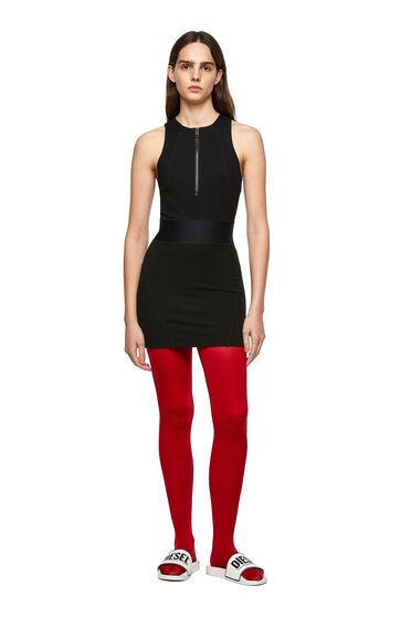 Körpernahes Kleid aus Milano-Strick