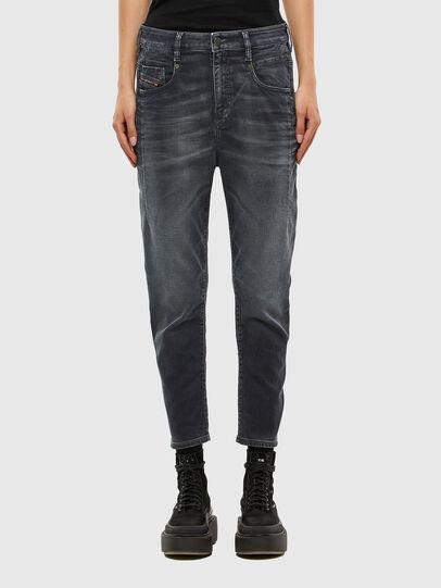 Diesel - FAYZA JoggJeans® 069QA, Schwarz/Dunkelgrau - Jeans - Image 1