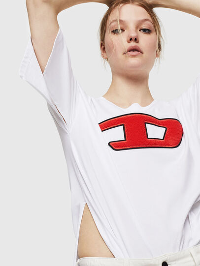 Diesel - T-JACKY-I, Creme - T-Shirts - Image 4
