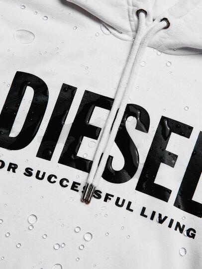 Diesel - S-GIR-HOOD-DIVISION-, Weiß - Sweatshirts - Image 6