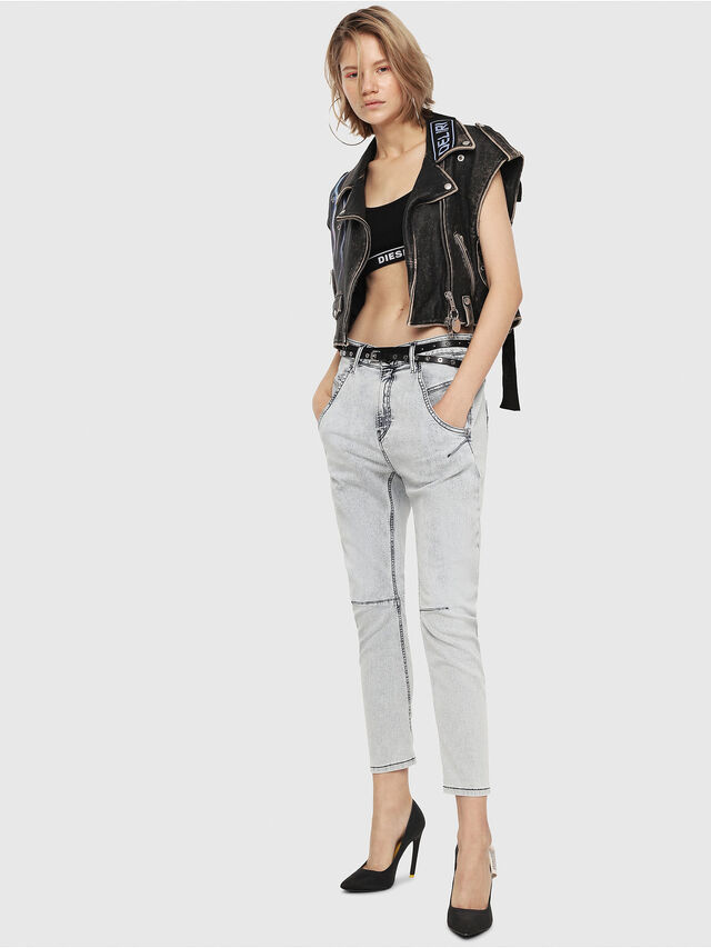 Diesel - Fayza JoggJeans 069FE, Hellblau - Jeans - Image 4