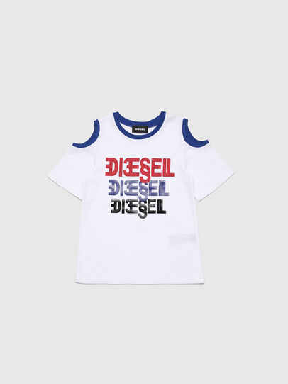 Diesel - TANIURAB-R, Weiß - T-Shirts und Tops - Image 1