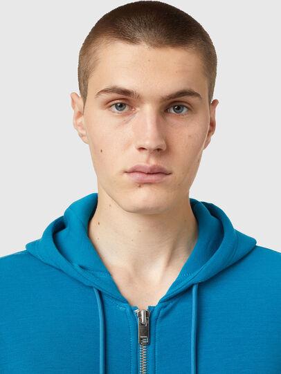 Diesel - S-KRIB-HOOD-ZIP, Blau - Sweatshirts - Image 3