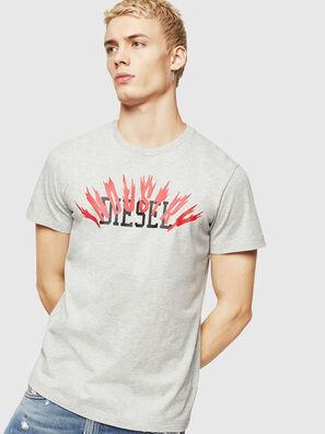 T-DIEGO-A10, Grau - T-Shirts
