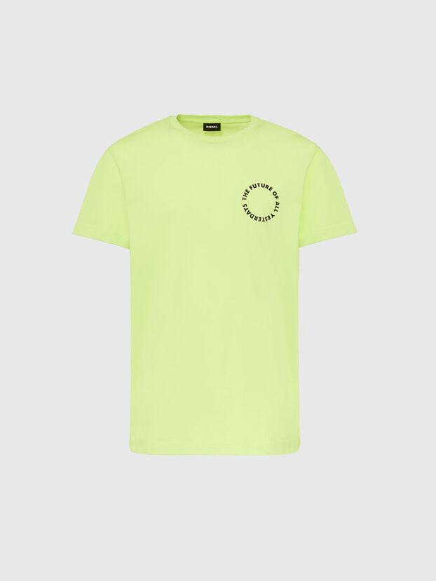 T-DIEGOS-X46, Neongrün - T-Shirts
