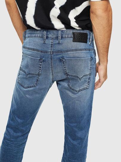 Diesel - Krooley JoggJeans 069MA, Mittelblau - Jeans - Image 5