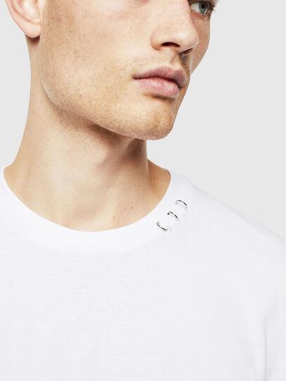 Diesel - T-GROSSI, Weiß - T-Shirts - Image 3