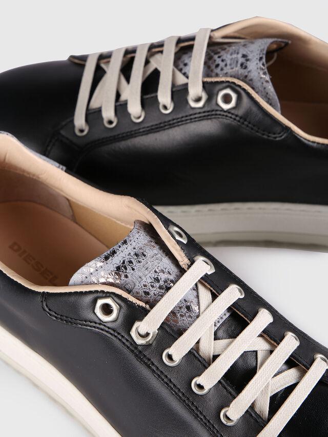 Diesel - S- ANDYES W, Schwarz/Silber - Sneakers - Image 4