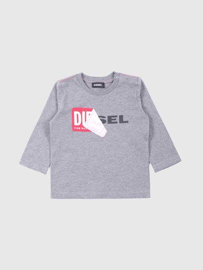 Diesel - TOQUEB, Grau - T-Shirts und Tops - Image 1
