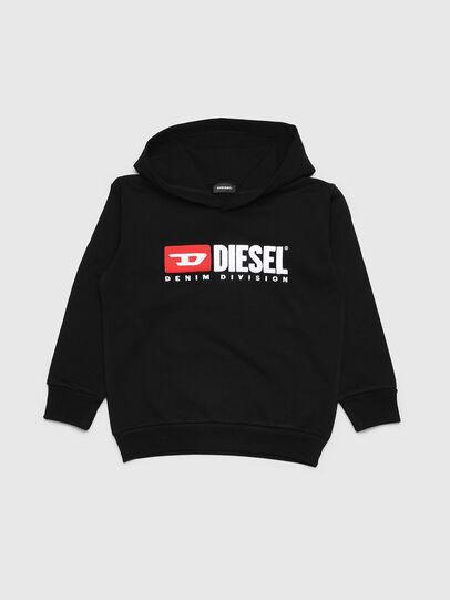 Diesel - SDIVISION OVER, Schwarz - Sweatshirts - Image 1