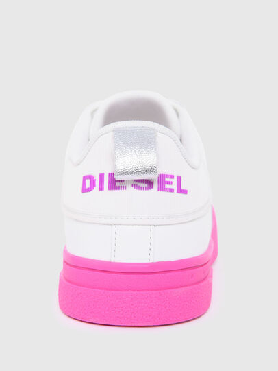 Diesel - S-CLEVER LOW LACE W, Weiss/Rosa - Sneakers - Image 6