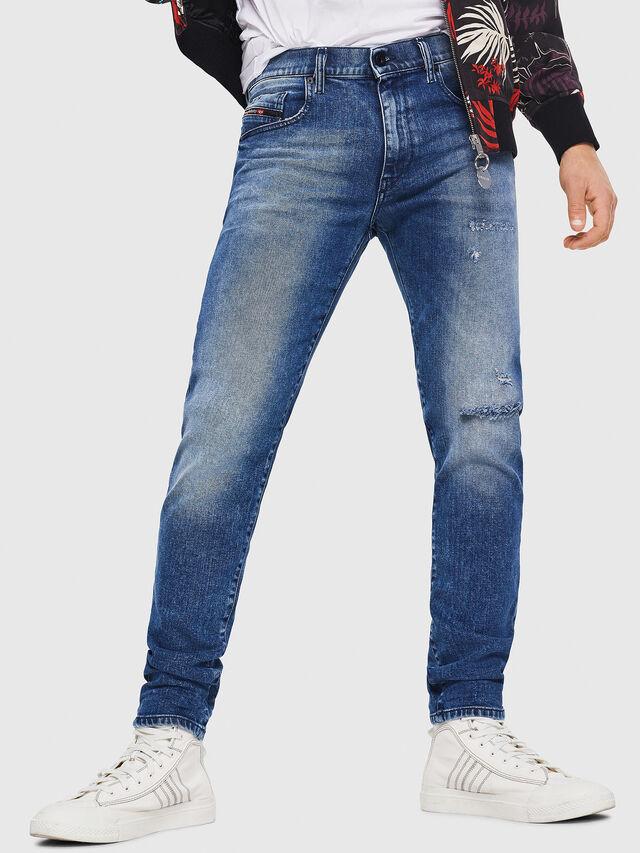 Diesel - D-Strukt 081AQ, Mittelblau - Jeans - Image 1