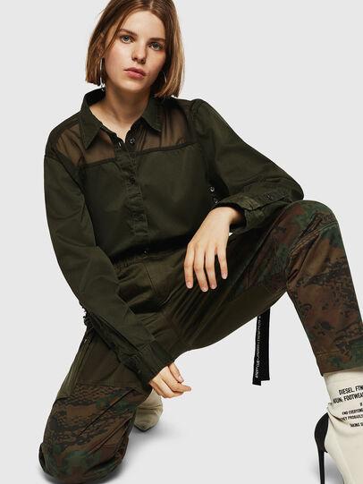 Diesel - P-THENA-A, Camouflagegrün - Hosen - Image 3