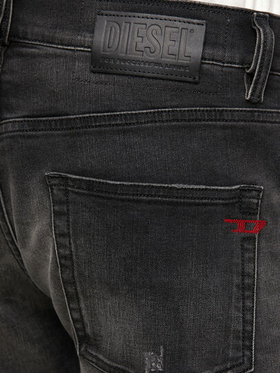 Diesel - D-Strukt 069RC, Schwarz/Dunkelgrau - Jeans - Image 4