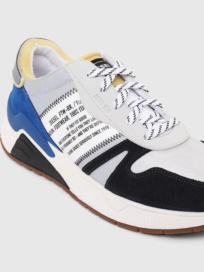 Diesel - S-BRENTHA FLOW, Grau/Blau - Sneakers - Image 4