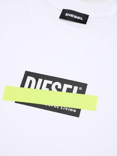 Diesel - TJUSTDIXB-R, Weiß - T-Shirts und Tops - Image 3