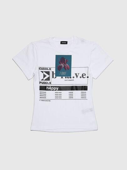 Diesel - TGODIE, Weiß - T-Shirts und Tops - Image 1