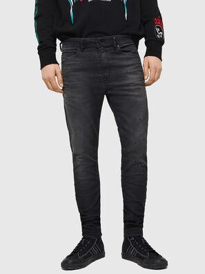 Spender JoggJeans 069GN, Schwarz/Dunkelgrau - Jeans