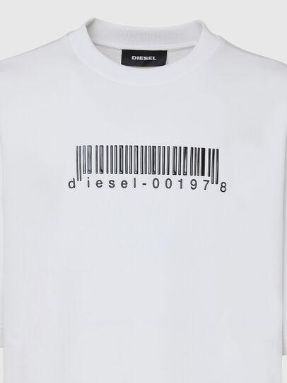 Diesel - S-COOLING-X10, Weiß - Sweatshirts - Image 3