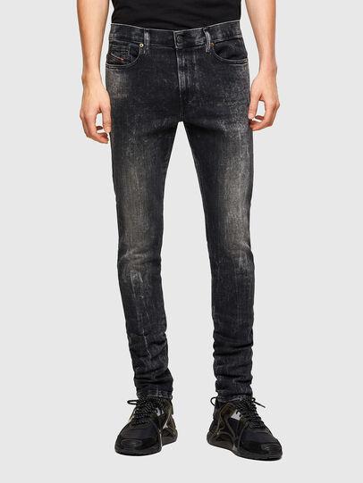 Diesel - D-Amny 009PX, Schwarz/Dunkelgrau - Jeans - Image 1