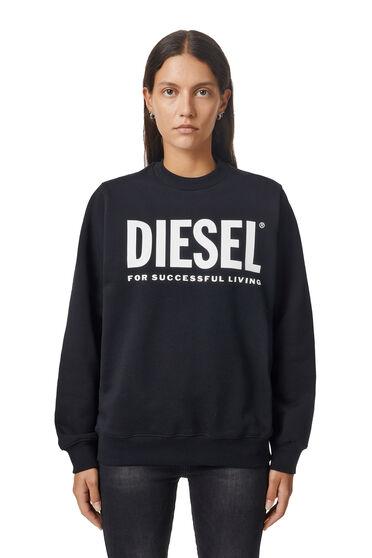 Sweatshirt aus Baumwollsweatshirtstoff mit Logo