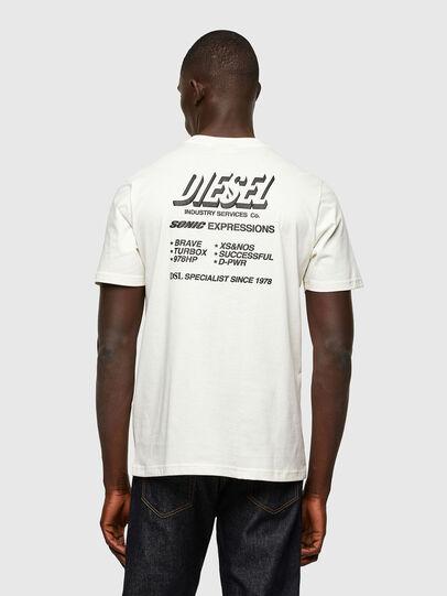 Diesel - T-JUST-A33, Weiß - T-Shirts - Image 2