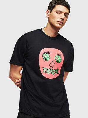 T-JUST-B27, Schwarz - T-Shirts