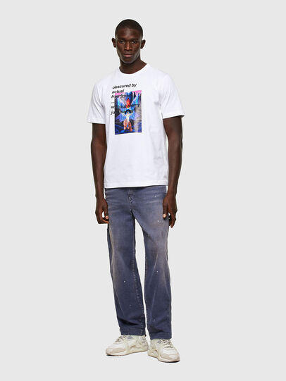 Diesel - T-JUST-A43, Weiß - T-Shirts - Image 4