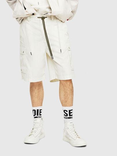 Diesel - P-AIMI-P, Weiß - Kurze Hosen - Image 1