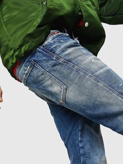 Diesel - D-Reeft JoggJeans 0870Q, Mittelblau - Jeans - Image 3